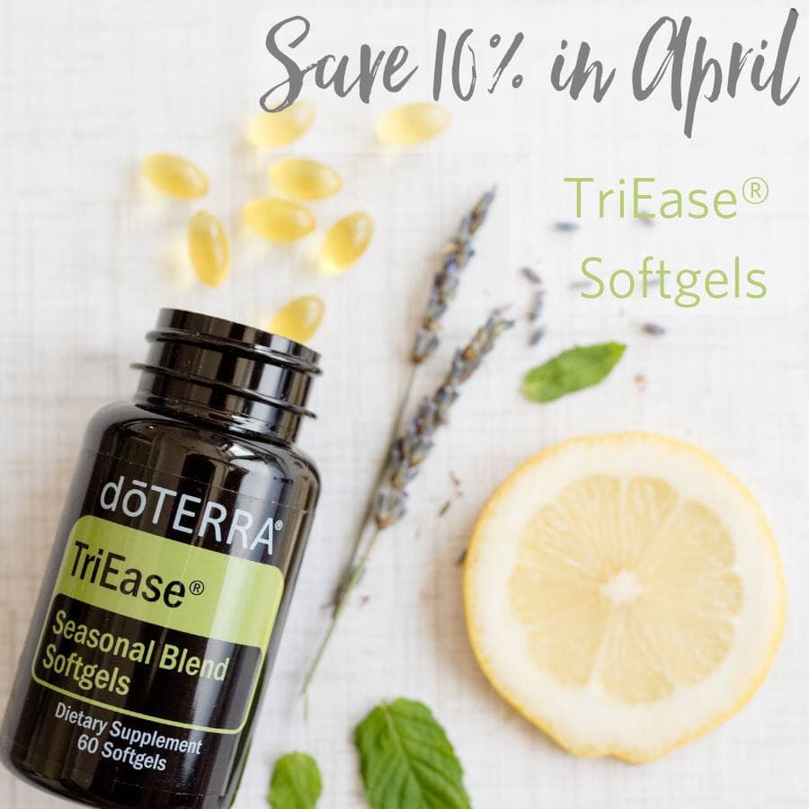 TriEase Softgels are 10% off this month!